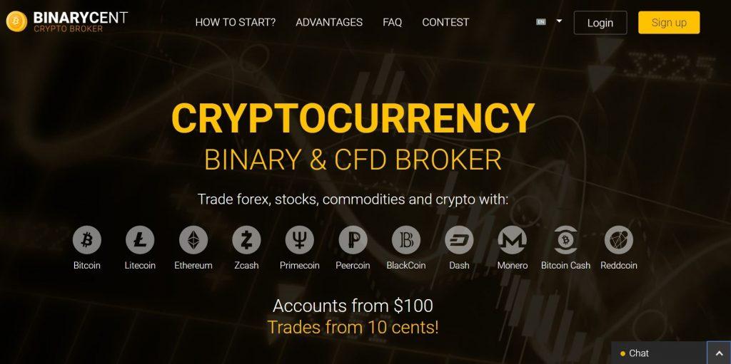 binary crypto trading